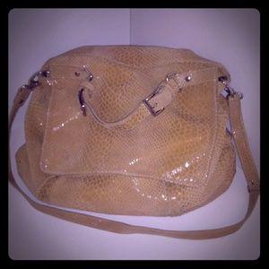Pietro Alessandro XXL Slouchy Tan Leather Handbag
